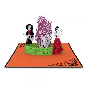 Lovepop 3D Pop Up Card Halloween Day Of The Dead