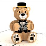 Lovepop 3D Pop Up Card Happy New Year Bear