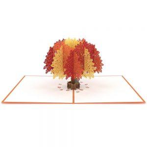 Lovepop 3D Pop Up Card Oak Tree