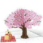 Lovepop 3D Pop Up Card Springtime Picnic Tree