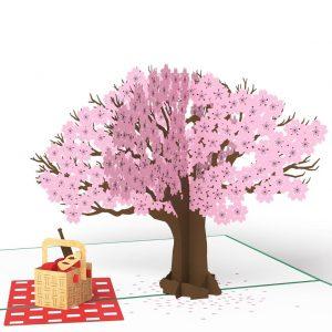 Lovepop 3D Pop Up Card Springtime Picnic Tree