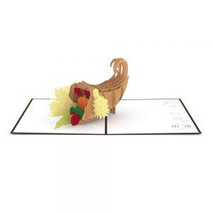 Lovepop 3D Pop Up Card Thanksgiving Cornucopia