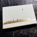Paula Skene San Francisco Skyline Foil Card