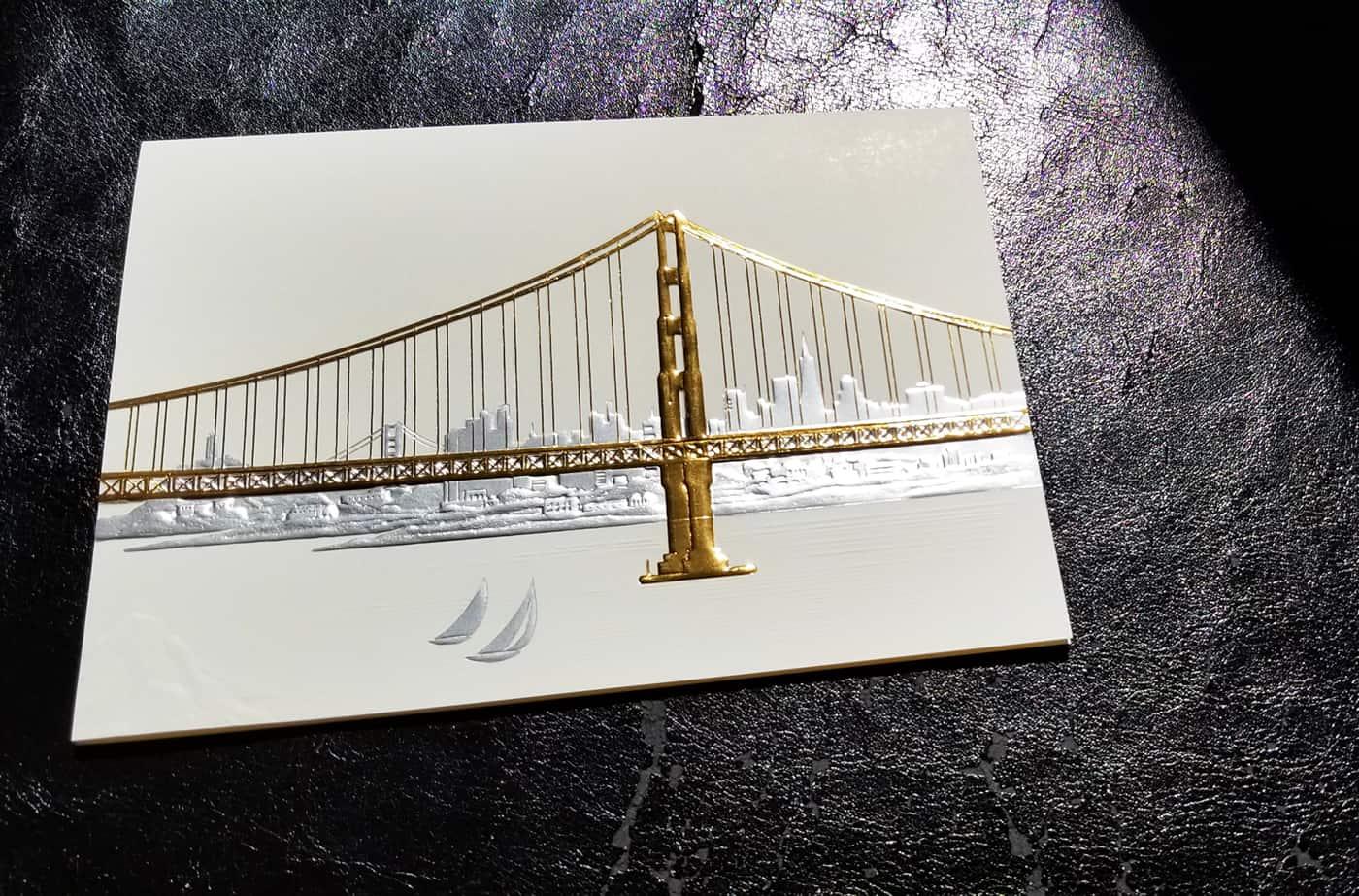 San Francisco Skyline Card