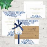Regina Craft Boarding Pass Wedding Invitation