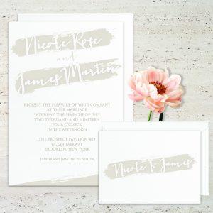 Regina Craft Color Splashes Wedding Invitation