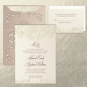 Regina Craft Corelli Wedding Invitation