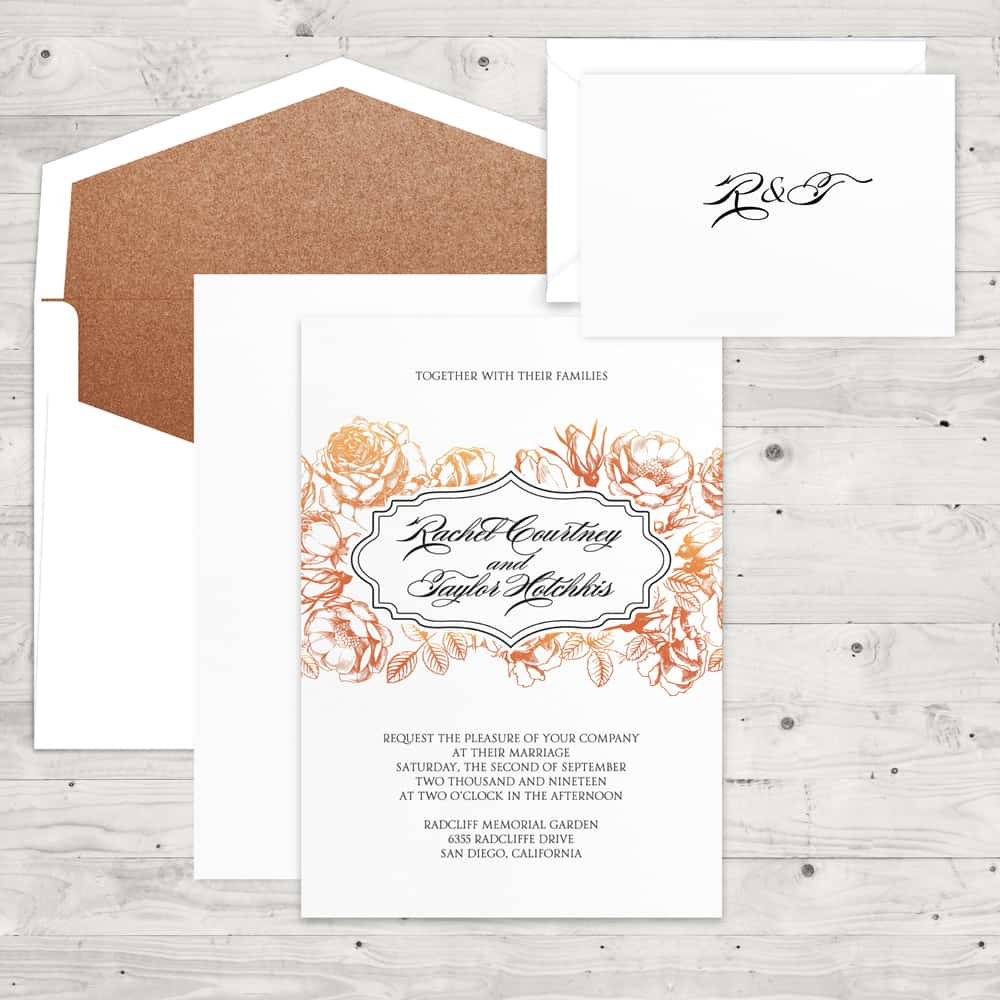 Regina Craft Wedding Invitations & Stationery - Hyegraph Invitations ...
