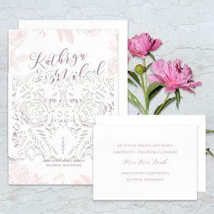 Regina Craft Edged Beauty Wedding Invitation