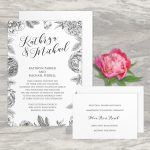 Regina Craft Flower Touch Wedding Invitation