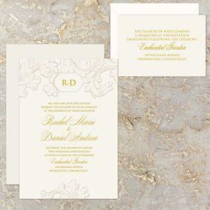 Regina Craft Francesco Wedding Invitation