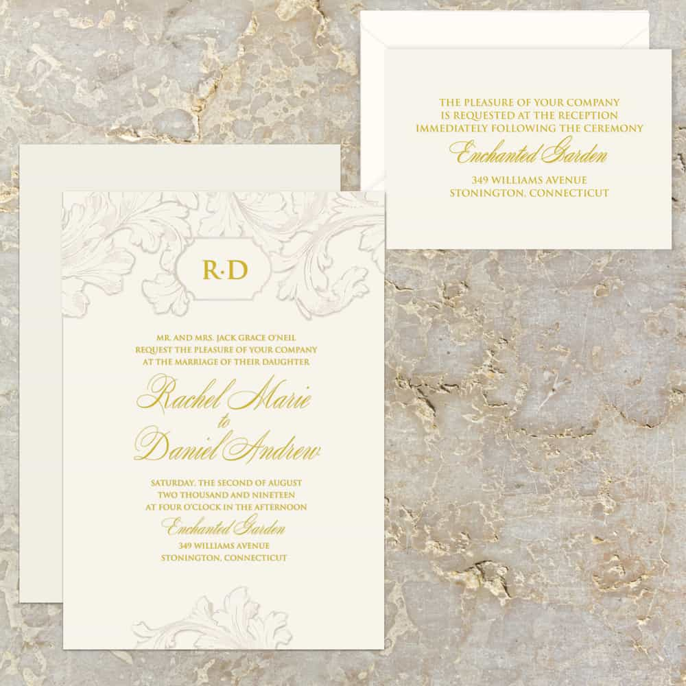 Regina Craft Francesco Wedding Invitation