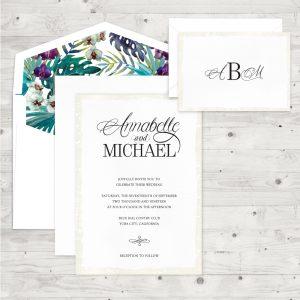 Regina Craft Just Elegance Wedding Invitation