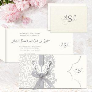 Regina Craft La Delicatezza Wedding Invitation