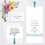 Regina Craft La Freschezza Wedding Invitation