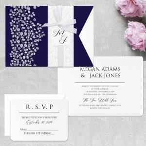 Regina Craft Natura Perlata Wedding Invitation