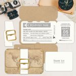 Regina Craft Pack Your Bags Wedding Invitation