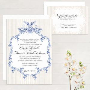 Regina Craft Palais Wedding Invitation