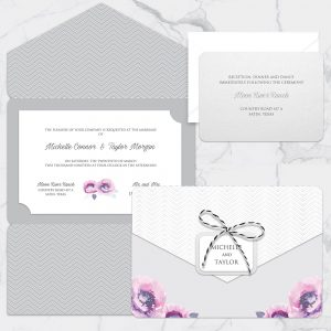 Regina Craft Poema di Fiori Wedding Invitation