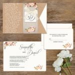 Regina Craft Rustic Nature Wedding Invitation