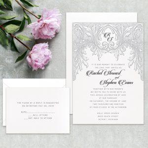 Regina Craft Vintage Dream Wedding Invitation