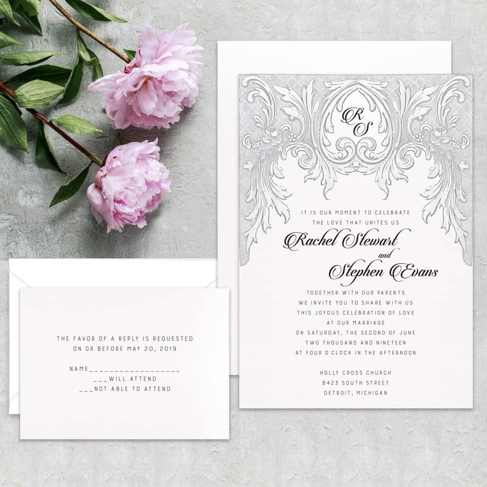 Regina Craft Vintage Dream Wedding Invitation