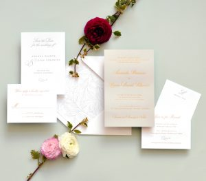 "Smitten On Paper ""Amanda"" Wedding Invitation"
