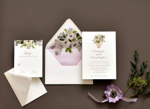 "Smitten On Paper ""Sweet Bouquet"" Wedding Invitation"