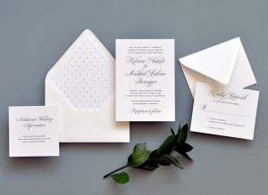 "Smitten On Paper ""Traditional Elegance"" Wedding Invitation"