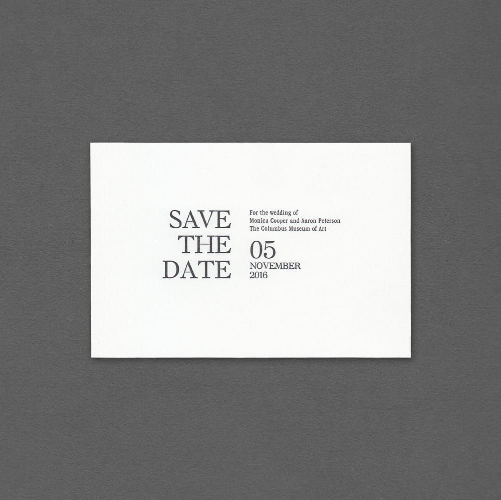 Top Save The Dates - Hyegraph Invitations & Calligraphy GZ64
