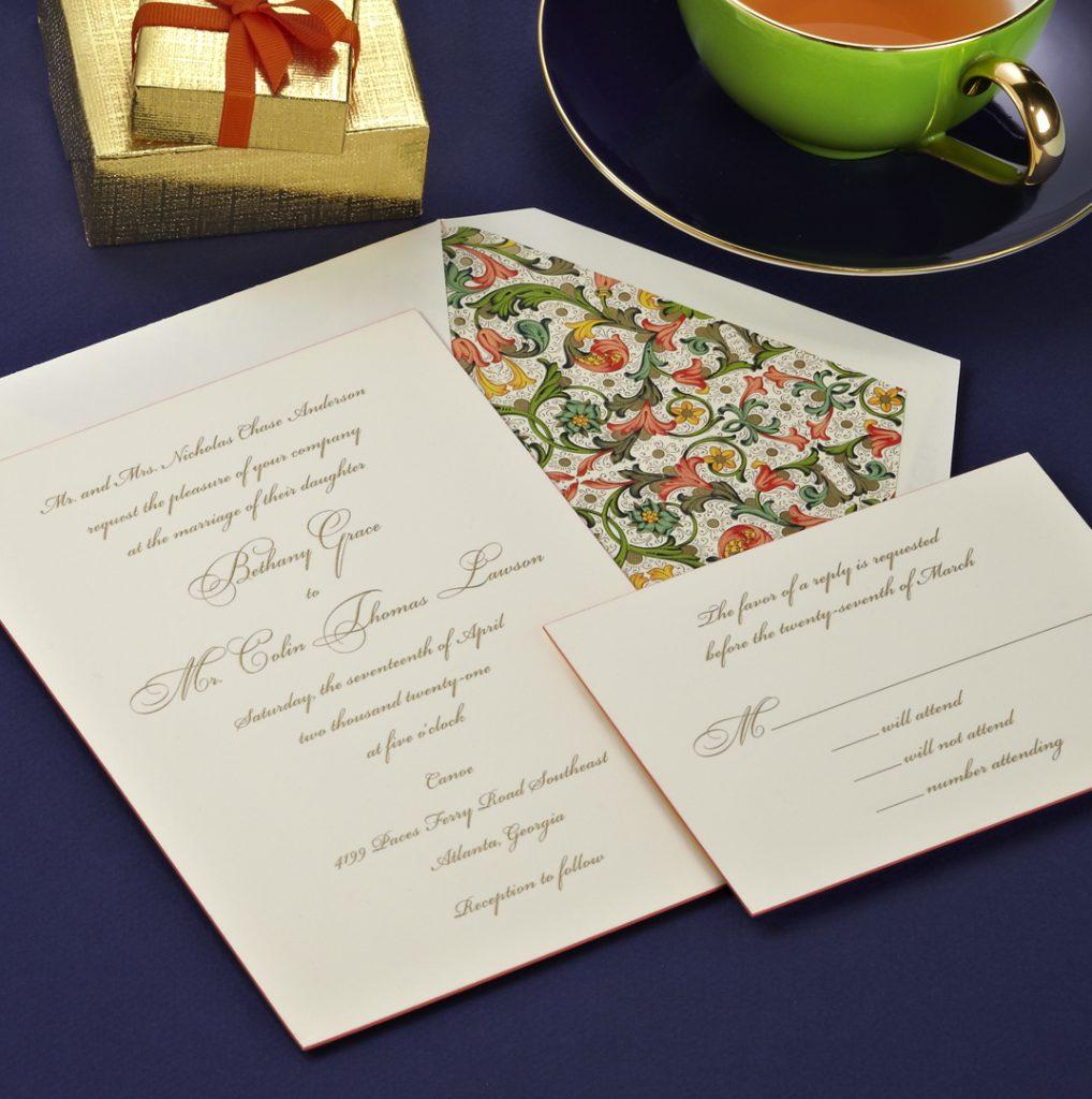 Crane & Co. Wedding Invitations
