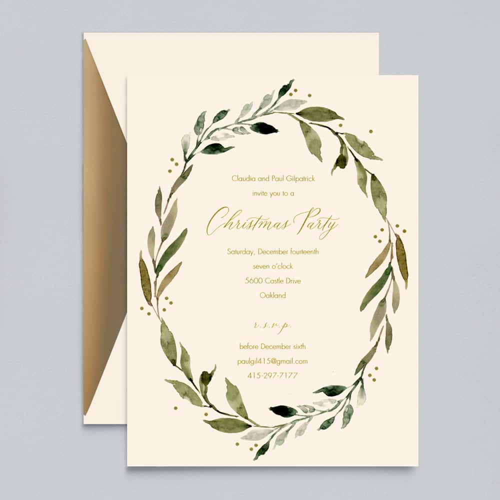 William Arthur | Daphne Invitation