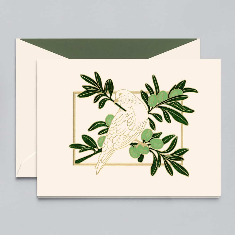Crane & Co. | Dove In Olive Tree
