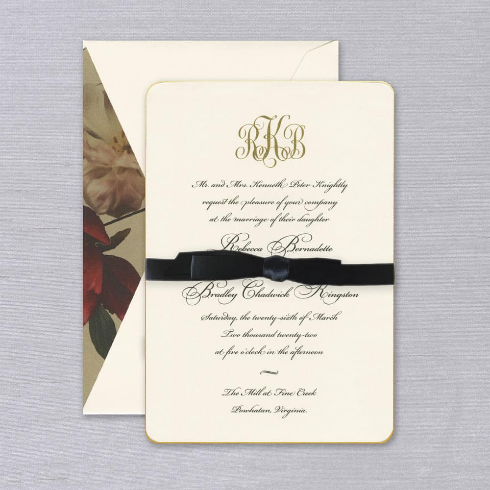 William Arthur | Annabelle Invitation