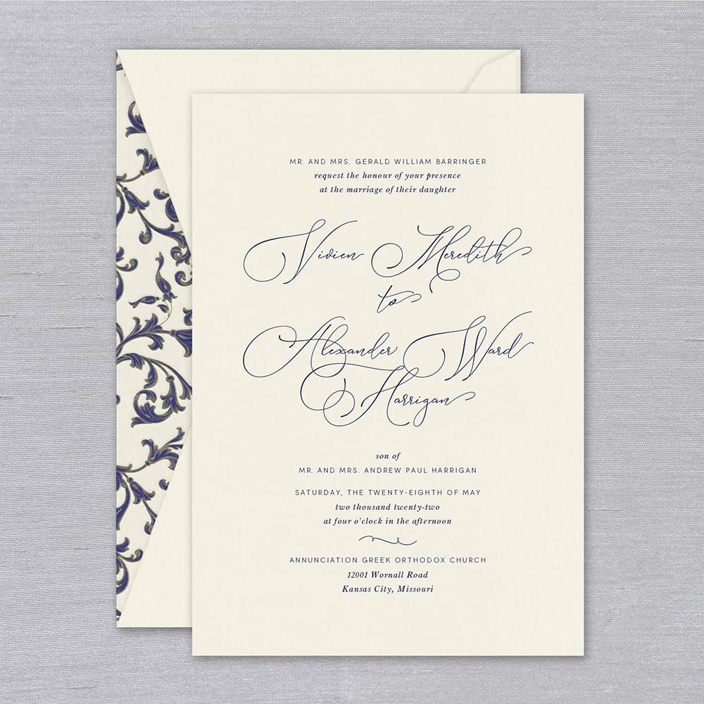 William Arthur | Branson Invitation