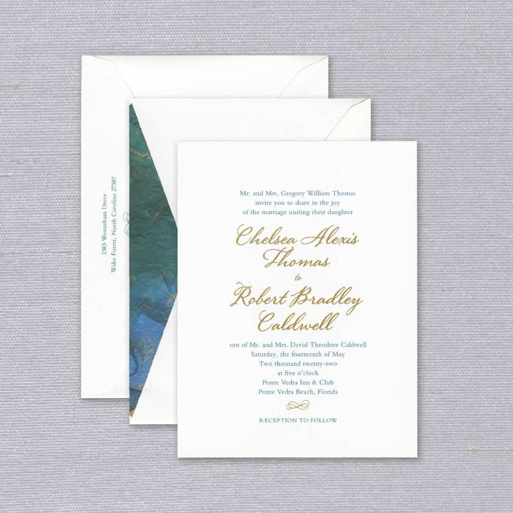 William Arthur | Calypso Invitation
