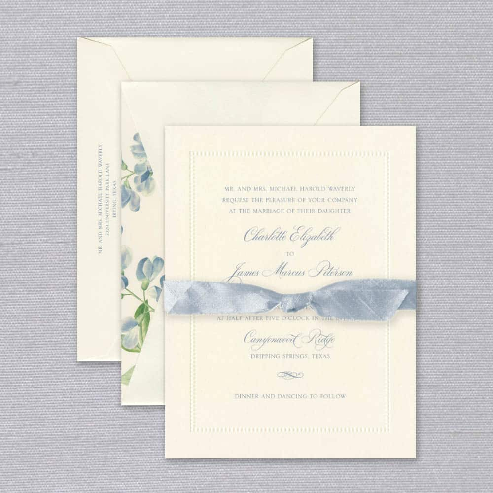William Arthur | Elegance Invitation