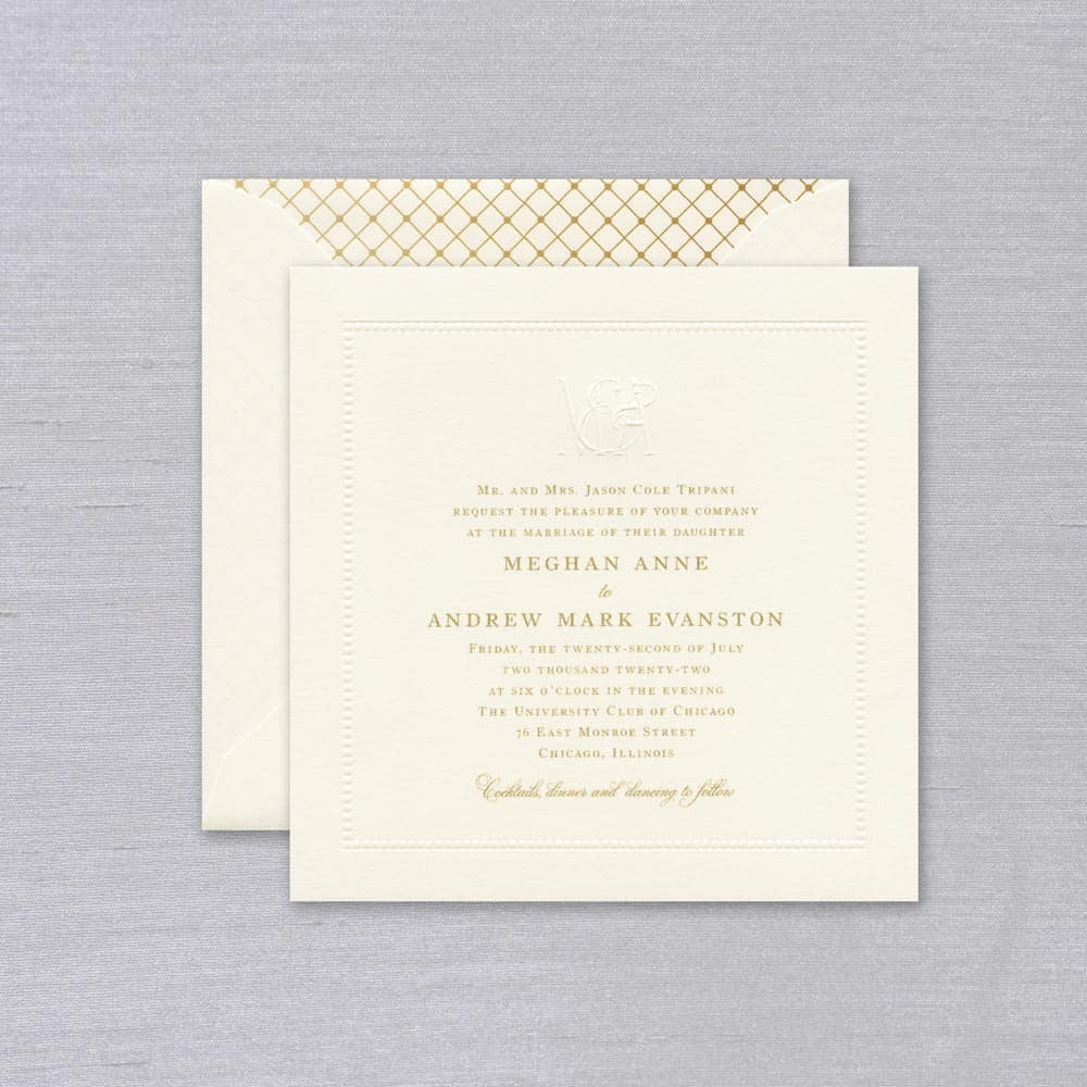 William Arthur | Felicity Invitation