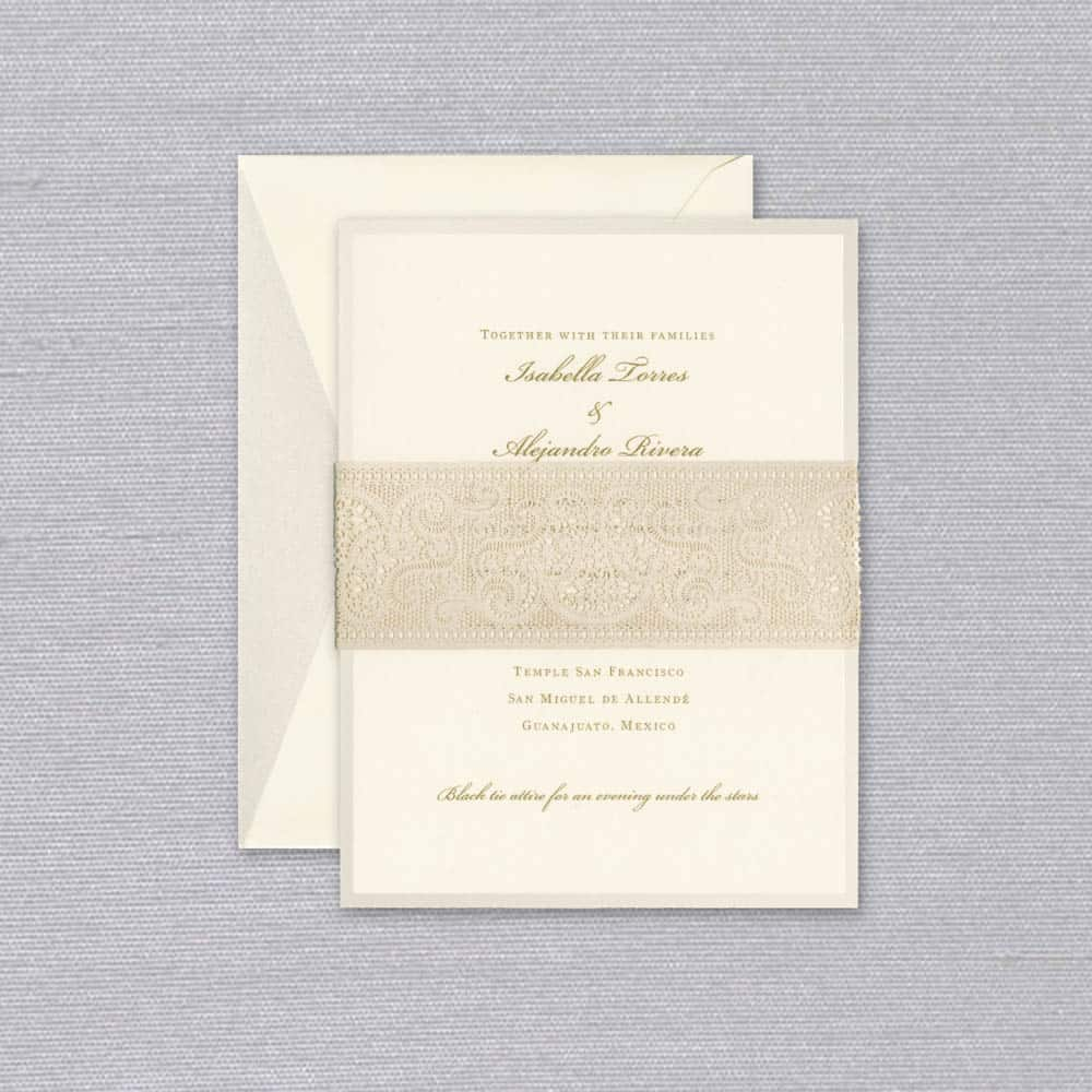 William Arthur | Isabella Invitation