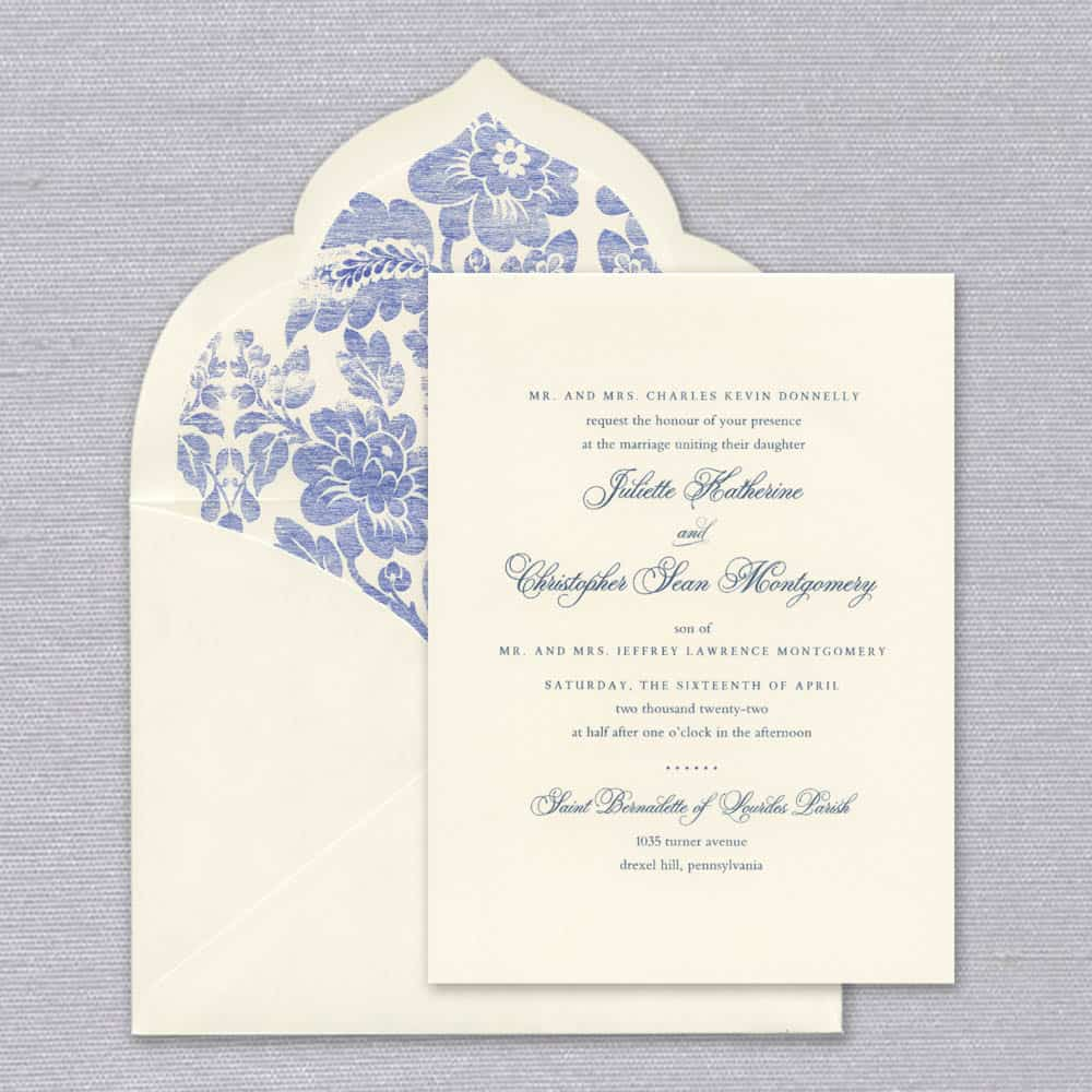 William Arthur | Juliette Invitation