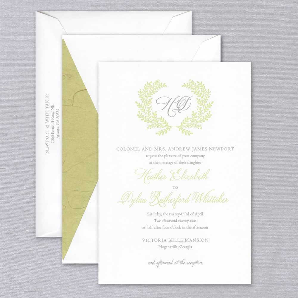 William Arthur | Leslie Invitation