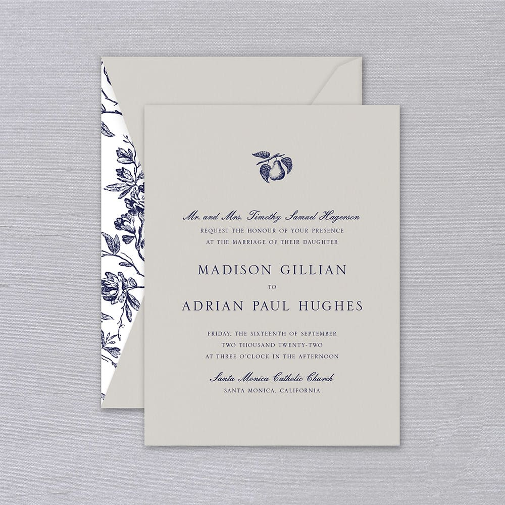 William Arthur | Madison Invitation