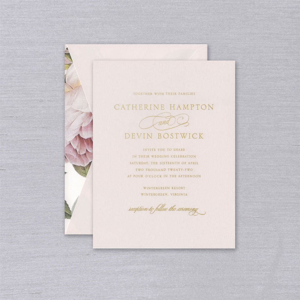William Arthur | Magnolia Invitation