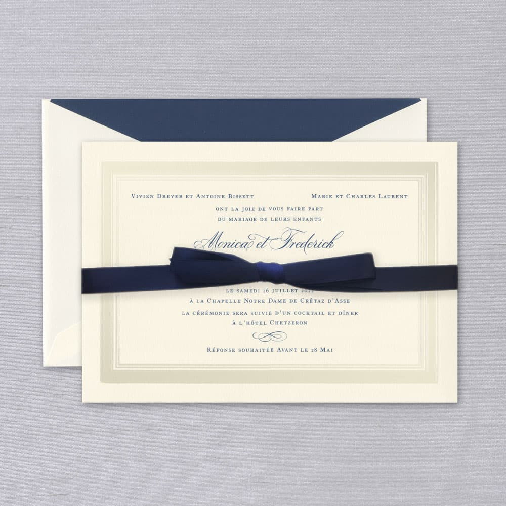 William Arthur | Pearl Frame Invitation