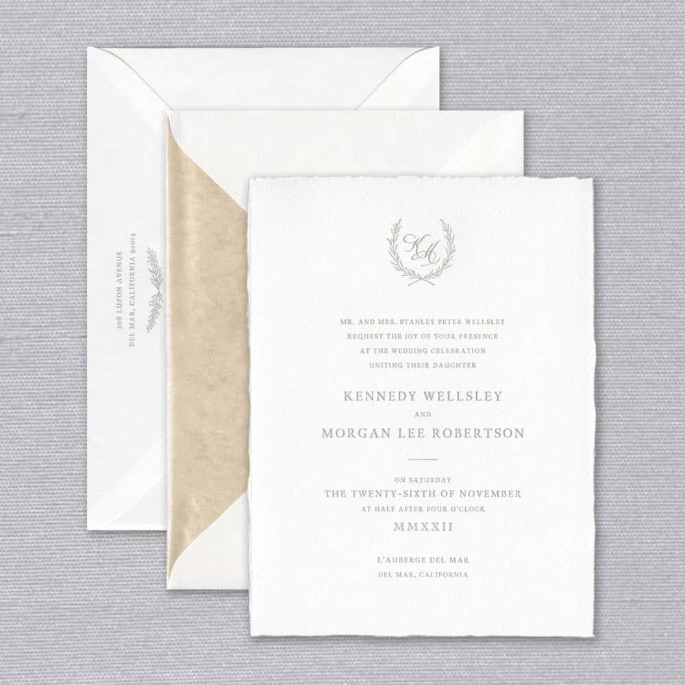 William Arthur | Rustic Invitation