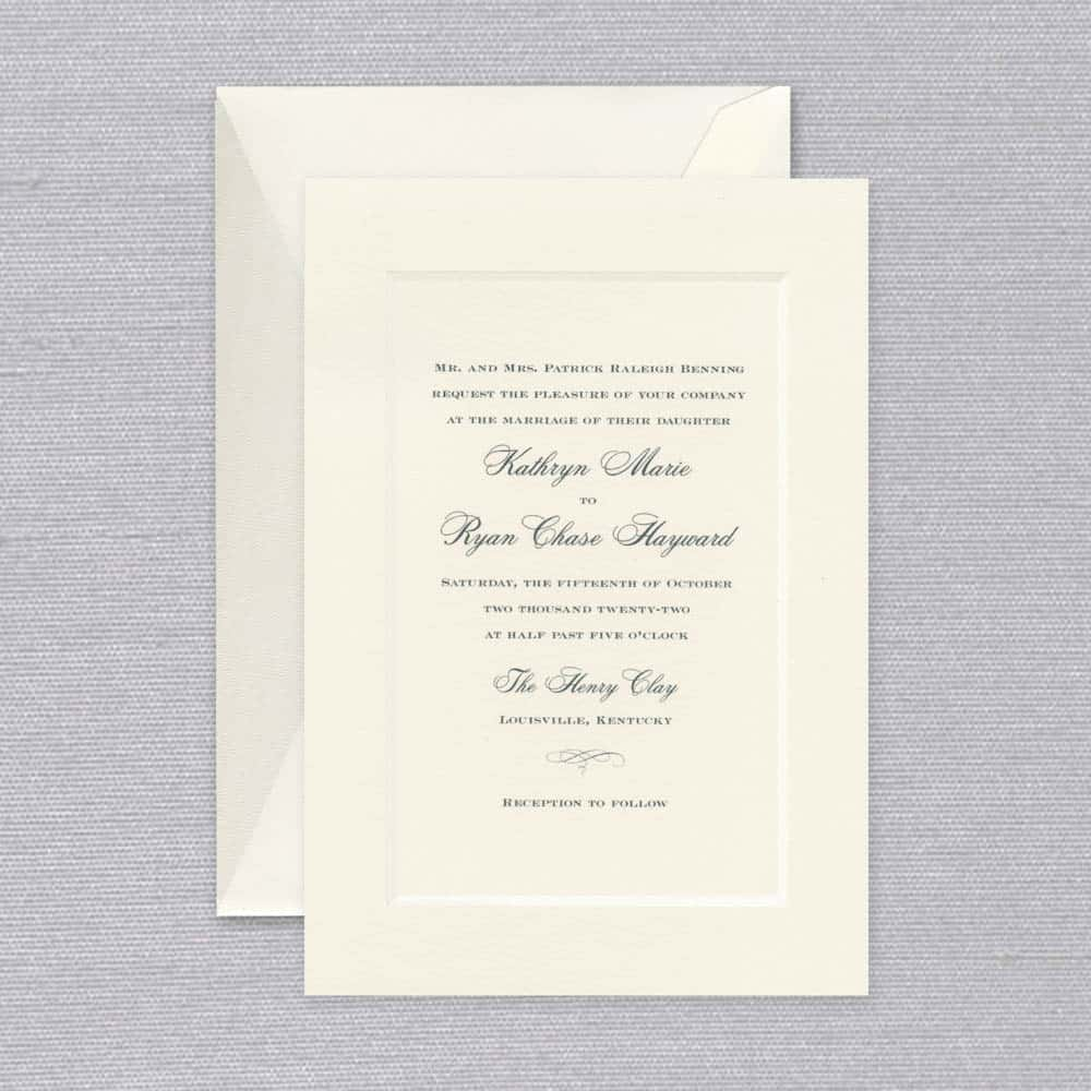 William Arthur | Stately Invitation