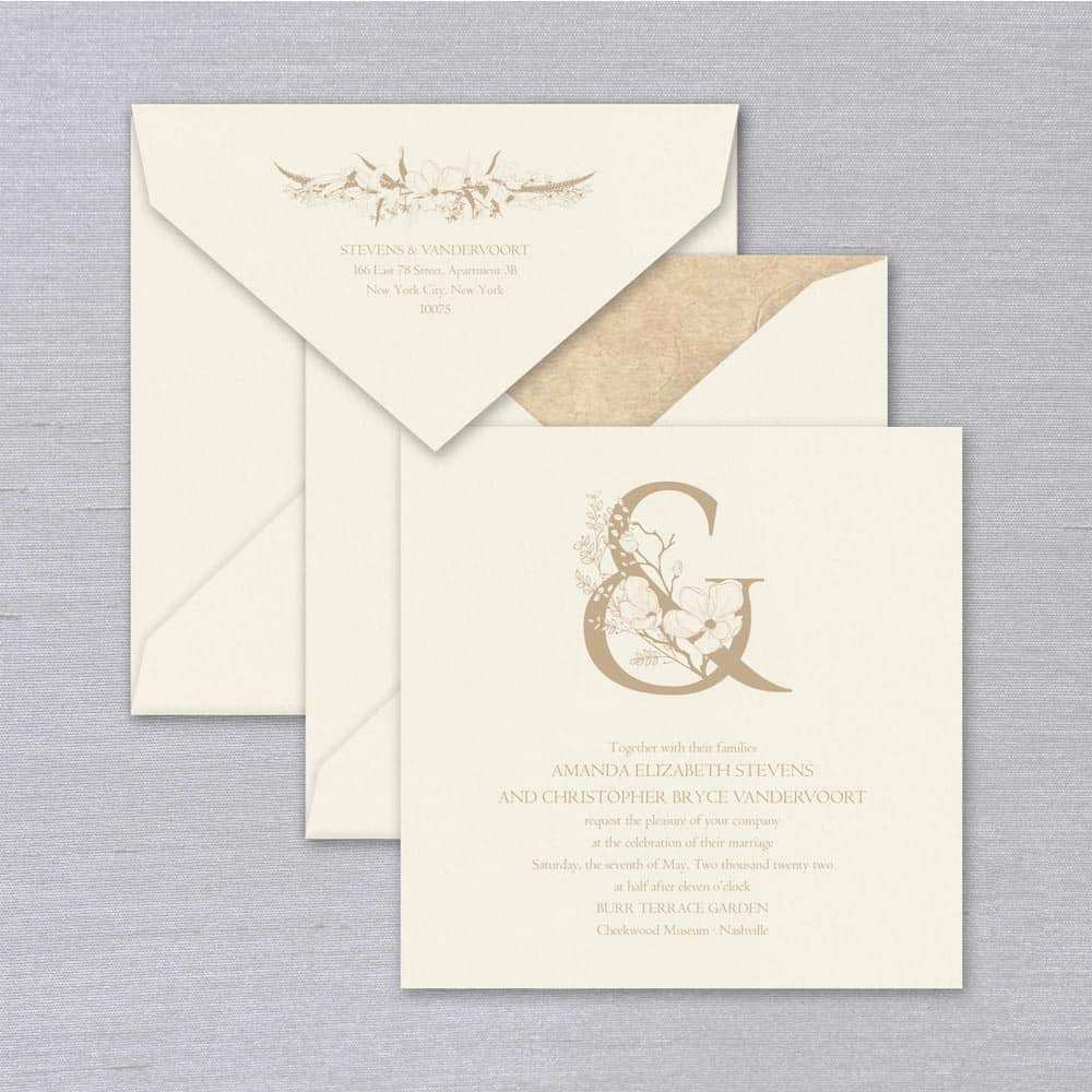 William Arthur | Thalia Invitation