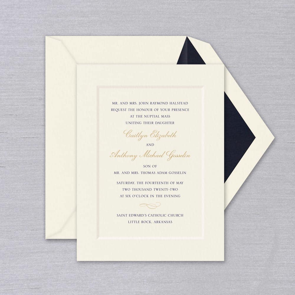 William Arthur | Tradition Invitation