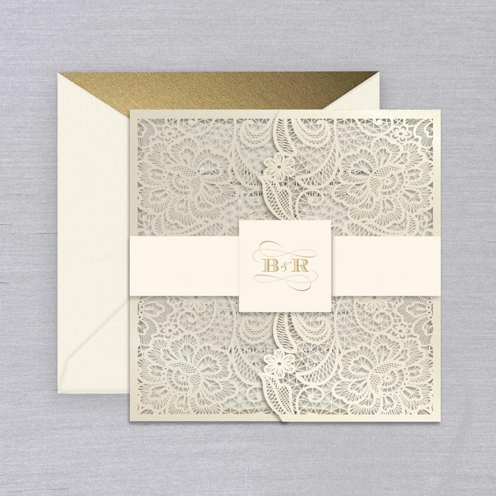 William Arthur | Venetian Lace Invitation