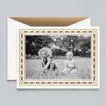 Crane & Co. | Woven Ribbon Photo Card